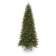 $230.61Feel-Real Tiffany Fir-Slim Hinged Pre-Lit Christmas Tree | from hayneedle.com