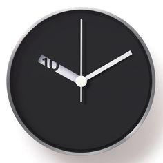 Extra Normal Wall Clock Black