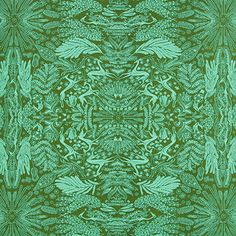 Free Spirit – Voile Oh Deer 2 - Baumwolle - oliv