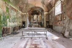 I Photograph Abandoned Buildings During My Travels Across Europe | Bored Panda