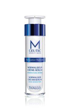 M-CEUTIC:  Normalisierende Serum-Creme  Hochkonzentrierte Creme gegen Unreinheiten für ein ebenmäßiges Hautbild