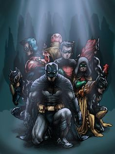 Bat Family DeviantArt
