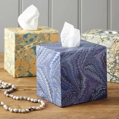 Decorative Tissue Boxes l Custom Made For You | Harris & Jones