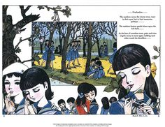 From The Rows of Cherry Trees  by takahashi makoto 1957