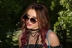 Bella Thorne's coachella glam