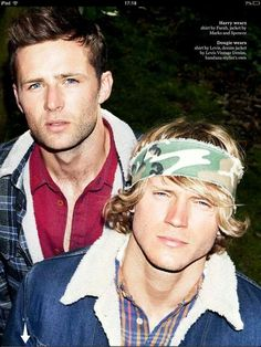 Harry and Dougie looking handsome in Attitude Magazine - Twitter / Team_Judd_McFly