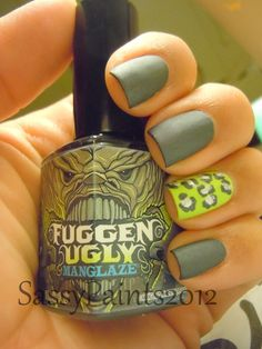 I literally just want 1 bottle of this brand of nail polish for the name. Fuggen Ugly? That's awesome