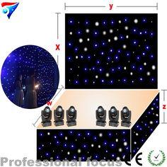 988.70$  Buy here - http://alildl.worldwells.pw/go.php?t=32610174332 - led light starry sky lighting fiber optic led star curtain 5mX12m 988.70$
