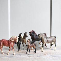 Vintage Breyer Horse Collection