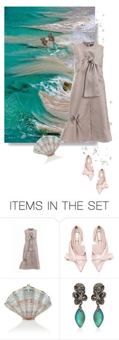 """""""Drops of Jupiter"""" by iriadna ❤ liked on Polyvore featuring art, beach and partystyle"""