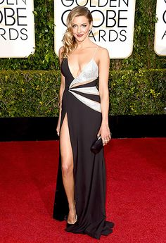 Katie Cassidy Photo - Golden Globes 2015 Red Carpet Fashion: What the Stars Wore - Us Weekly