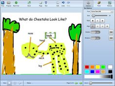Authoring tool that students can use to share ideas, and express understanding through a combination of text, artwork, voice narration, and images. Use to help students create their own visual representations in math.