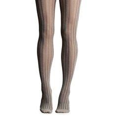 Kate Hill Women's Ribbed Truffle Tights ($22) ❤ liked on Polyvore featuring intimates, hosiery, tights, truffle, kate hill, ribbed pantyhose, ribbed stockings and ribbed tights