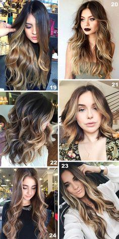 Castanho Iluminado: 38 fotos lindas para inspirar! Light Brown Hair, Light Hair, Dark Hair, Hair Lights, Perfect Hair, Bilage Hair, Medium Hair Styles, Curly Hair Styles, Hair Contouring