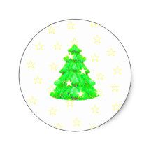 Christmas Tree with Stars The MUSEUMZazzle Round Sticker  jGibney The MUSEUM, gib, gibney, jgibney,Gibney, jGibney,  ---SEE EVERYTHING HERE--->>> http://themuseum.host56.com/themuseum.htm, http://www.zazzle.com/the_museum/products, http://www.zazzle.com/mbr/238948309450180796, http://www.zazzle.com/The_MUSEUM*, jGibney/The MUSEUM Zazzle Gifts <<<---,
