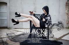 "Daniel Monika Swoboda: ""Black sand"" http://www.confashionmag.pl/webitorial/black-sand.html"