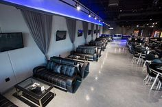 We have enough couches to seat everyone that wants to come into Lux to relax and smoke a hookah! Stop in tonight! Come to Lux Lounge in West Bloomfield, MI to relax with friends at a premiere hookah lounge in an upscale atmosphere! Call (248) 661-1300 or visit www.luxloungewb.com for more information!