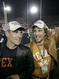 Matthew Mcconaughey, Lance Armstrong, and Longhorn Football...hello?  What's not to love!