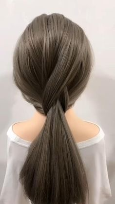 Hair Up Styles, Medium Hair Styles, Easy Hairstyles For Long Hair, Grunge Hair, Hair Videos, Hair Looks, Hair Inspiration, Hair Makeup, Hair Cuts