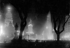 Plaza Congreso, año 1936.