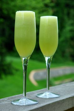 Honeydew Melon Bellini