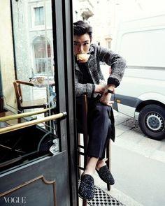 """stylekorea: """"Bigbang's T.O.P in """"Buon Giorno!"""" for Vogue Korea November Photographed by Yoo Young Kyu """" Daesung, T.o.p Bigbang, Vogue Korea, G Dragon, Yg Entertainment, Big Bang Kpop, Bang Bang, Lee Hi, Top Choi Seung Hyun"""