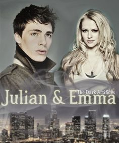 The Dark Artifices. Emma and Julian. Shipped it since the COHF Prologue!!!!