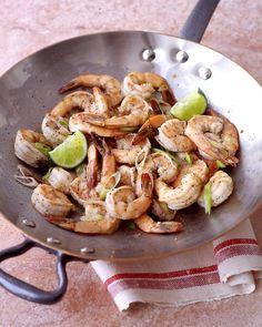Spicy Shrimp Stir-Fry - Martha Stewart Recipes
