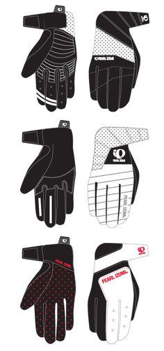Bike Glove Ideations. Pearl Izumi. Spring 2009.