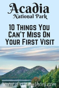 There are so many things to do in Acadia National Park, but I've narrowed it down to a short list of things you really can't miss. I've also included a bunch of helpful information to help you navigate through Acadia and make the most of your time. Have a great adventure! Acadia National Park, National Parks, Greatest Adventure, The Good Place, Things To Do, Road Trip, Vacation, Canning, Things To Make