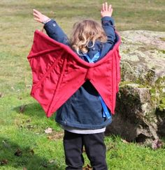 Kids Dress-Up Dragon Wings