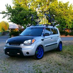 """Check out this sick Kia Soul!  Loving the blue wheels!! -  Owner: @timothyjaynes -  Make sure you add #soulkulture to get the shot at a shoutout! -  #kia #soul #kiasoul #boxedlifestyle #kdmstance #kdm #coolbox #kdmgang #kdmlife #stance #slammedsuvs #soulhamsters #soulkulture #boxmovement #bovagonprep #bovagon #sowo #sowoprep"" Photo taken by @soulkulture on Instagram, pinned via the InstaPin iOS App! http://www.instapinapp.com (05/20/2015)"