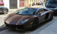 Yay or Nay? Matte Brown Lamborghini Aventador | automotive99.com