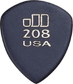 Dunlop 477R208 Jazztone Guitar Picks - Large Pointed 3 Dozen by Jim Dunlop. $10.23. Developed specifically for the jazz guitarist, these Dunlop picks deliver great tone and speed for any player who needs to play FAST! JD Jazztones have a super gripping surface and are non-flexible so they're great for speed. They also have a precision contoured edge to ensure a smooth release.. Save 51% Off!