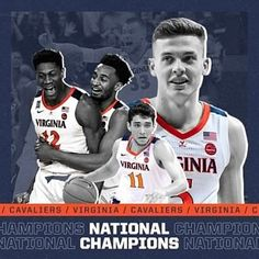 Congrats to Texas Tech on a great season and congrats to the University of Virginia on winning its first NCAA National Championship! Uva Basketball, Virginia Basketball, Basketball Funny, College Basketball, Uva Sports, University Of Virginia, National Championship, School S, Nba Players