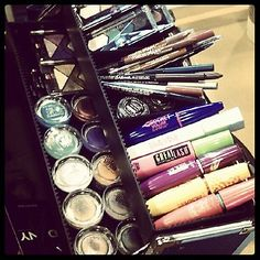 #Beauty box @Deena Q. Korman for #NYFW