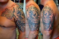 Harley Davidson tattoo by gettattoo