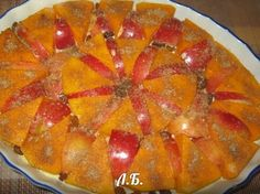 #Рецепт пошаговый: #Запеченная_тыква_с_яблоками и корицей супер рецепт