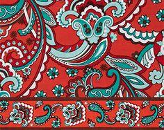 Bella Taylor's Bali Bright Fabric Swatch