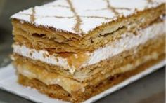 Varomeando: Milhojas con crema pastelera y nata