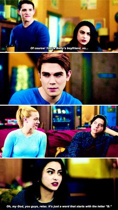 """""""Am I expected to come to this thing?"""" #Riverdale #Season1 #1x08"""