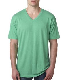 Next Level Men's Triblend Vee Tee for only $5.97