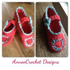 Crochet Adult Crochet Slippers