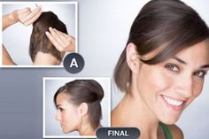 half up hairstyles for short hair 2