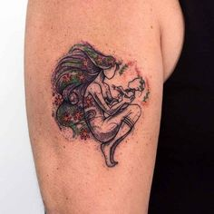 shoulder tattoo mother