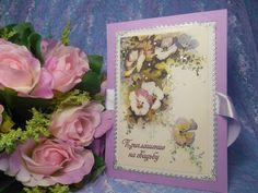 Приглашение на свадьбу выполнено на основе копии старинной открытки. Цена: 72 руб. за штуку. #свадьбы #приглашения #ручнаяработа #винтажный #декор #soprunstudio