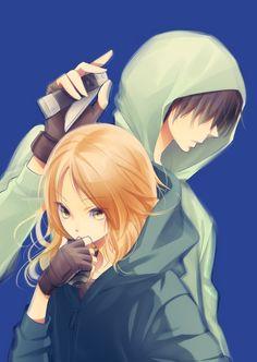 Assassination Classroom - Ryunosuke Chiba and Rinka Hayami