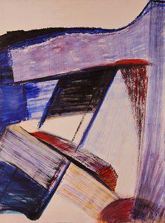 "DAVID DOUTHAT ""Broken Dream,"" Acrylic on Canvas, 36"" x 48"""
