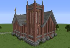 Unfurnished Small Victorian Church GrabCraft Your number one source for MineCraft buildings bluepri Minecraft houses Minecraft architecture Minecraft city