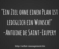 Planst du deine Ziele? http://selbst-management.biz
